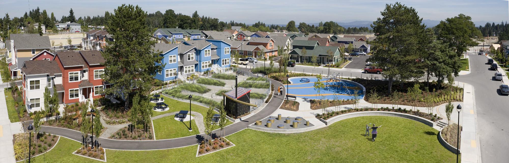 Greenbridge, King County, Washington. Photo: Steve Keating Photography